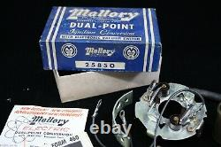 NOS MALLORY Dual POINT conversion MoPar Dodge Chrysler Plymouth DeSoto hot rod
