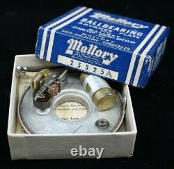 NOS Vintage MALLORY Advance Plate CHEVY BUICK V8 Hot Rod distributor ignition