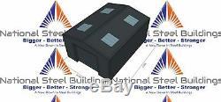 National Steel Buildings Ltd Steel Frame Garage or Store Ref 009