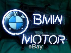 Neon Sign Motor RACING CAR GLASS HOME Beer Bar Pub Store Display Garage Light