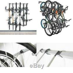 New Bike Storage Rack Store Up To 6 Bikes 300Lb Weight Capacity Garage Bike Rack