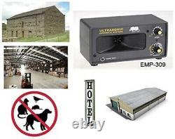 Powerful Warehouse Ultrasonic Pest Repeller, Industrial, Store, Farmhouse EMP309
