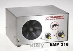 Powerful Warehouse Ultrasonic Pest Repeller, Industrial, Store, Farmhouse EMP316