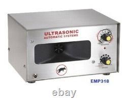 Powerful Warehouse Ultrasonic Pest Repeller, Industrial, Store, Farmhouse EMP318