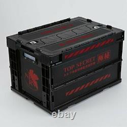 Rebuild Of Evangelion Nerv Top Secret Folding Container Eva Store Limited Japan