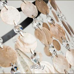 Retro Shell Lamp Chandelier Clothing Store Restaurant Pendant Lighting Fixtures