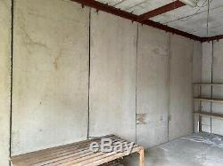 Sectional Concrete Store/Garage