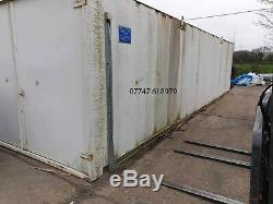 Secure Cabin Store Open Both Ends Shed Portable Garage Stackable Steel Container