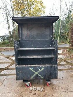 Sentri Site Store tool box van garage workshop complete with key £280+vat E16