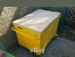 Steel Job Site Tool Box Van forklift Garage Vault store Security armorgard safe