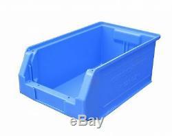 Storage Stack Bins Box 350mm 14 Parts Box Lin Bins Store Garage Sb52 Qty 10
