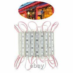 Super Bright LED Module 5054 SMD Strip Light Red Store Front LOGO Waterproof 12V