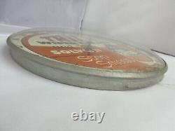 Vintage Advertising Trico Round Thermometer Glass Face Garage Store M-402