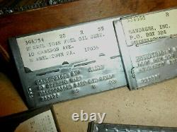 Vintage Auto Parts Store Car Garage Metal Name Plates Hershey Hummelstown PA