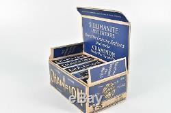 Vintage Champion Y-5 Spark Plug In Original Store Display Box of 10 Garage Cave