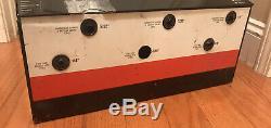 Vintage Gates Vacuum & Fuel Line Hose Store Metal Display Cabinet Garage Deco