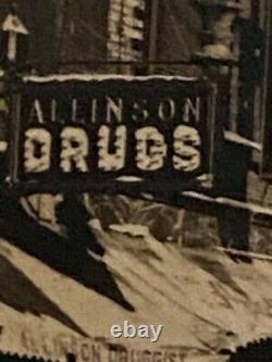 Vintage Lot Photos New England NH Portmouth Market Square Garage Drug Store Etc