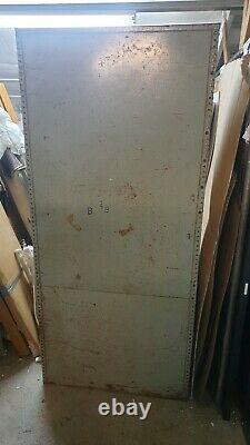 Vintage Metal Cabinet Shelves Storage Garage Unit Industrial Workshop Store Room