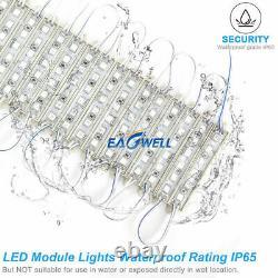 10-250ft 6 Led Strip Light Module 5054 Smd Store Sign Logo Waterproof White Lamp