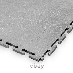 15 X Evotile Professional Garage Floor Tile Plus 3 Bords De Rampe