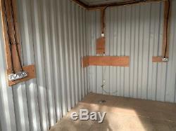 16ftx10ft Conteneur Garage Site Atelier Portable Magasin Anti-vandale