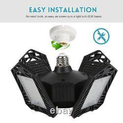 2-pack Ampoule Led Lampe Déformable 150w Store Restaurant Indoor Black