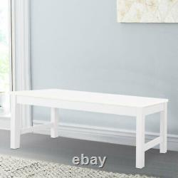 3ft Wooden Bench Dining Table Seat Chair Shop Shop Display Shelf Rack Stand Royaume-uni