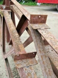 3no 16ft Bâtiment D'acier Routier Trussees Bâtiment D'atelier Ideal Bâtiment D'entreprise