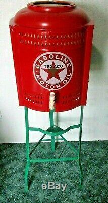40s Vintage Refroidisseur D'eau Résister À Station Texaco Magasin Mancave Garage