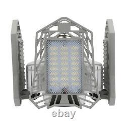 4x Ampoule D'éclairage De Garage Led Déformable Pliable 150w Store Indoor Outdoor