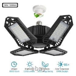 4x Ampoule Led Pliable Plafond Fixture Lights 150w Office Store Indoor