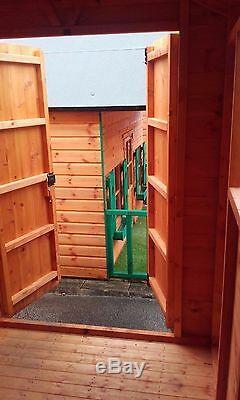 7x6 Garage Atelier Bois Entierement T & G Hangar Magasin 7ft X 6ft Apex Ou Appentis