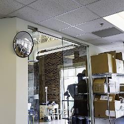 Acrylique Convex Miroir Garage Blind Spot Store Sécurité Ronde Sécurité Intérieure Utilisation