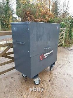 Armorgard Oxbox Site Store Boîte À Outils Garage Van Complet Avec Clé £ 300 + Cuve E15