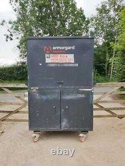 Armorgard Sitestation Store Boîte À Outils Atelier Garage, Besoin De Nouvelles Serrures £750+vat