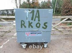 Armorgard Tuffbank Site Store Boîte À Outils Garage Van Nécessite Serrures £ 275 + Cuve E20
