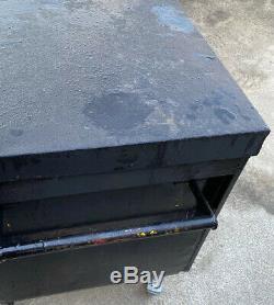Boîte À Outils En Toute Sécurité Du Site Magasin Van Garage Voûte Camion Camion, Avec Serrures Et Roues