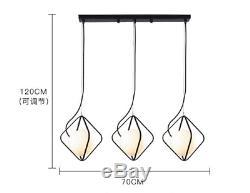 Boule En Verre Led Lustre Lampe Vêtements Salon Magasin Bar Cabaret Droplight Lumière