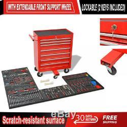 Chariot Rangement Atelier Magasin Chest Cabinet Garage Boîte À Outils 1125 Outils Centre