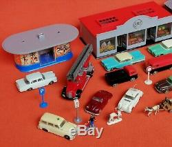 Collection Siku Plastique V-serie Magasin Kiosque Garage Porsche Mercedes Plastik Vw