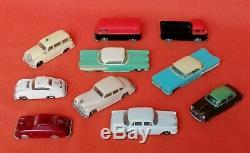 Collection Siku Plastique V-series Magasin Kiosque Garage Porsche Mercedes Plastik