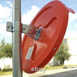 Convex Traffic Mirror 18 Pour La Sécurité De L'allée, Du Garage Et De L'entrepôt Ou