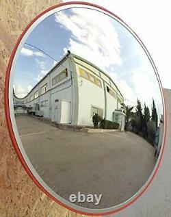 Convex Traffic Mirror 24 Pour La Sécurité De L'allée, De L'entrepôt Et Du Garage Ou