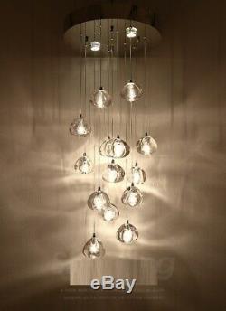 Cristal Led Pendant Lamp Magasin De Meubles Magasin De Vêtements Du Club Light Chandelier