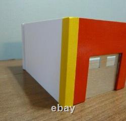 Custom 1/43/48 Échelle 4 Bay Garage/station/office/store/firehouse 6 X 19