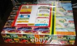 Ensemble De Cadeaux De Vacances Matchbox Lesney. Stockage Trouver Des Nouvelles Esso Canteen Store Garage