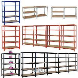 Extra Heavy Duty 5 Tier Bureau Rayonnage Magasin Garage Acier Racking Stockage Unités
