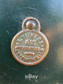 Fane Vintage Sécurité # 1003 Belle Armoire De Boissons, Magasin De Cigares, Partie De L'hôtel