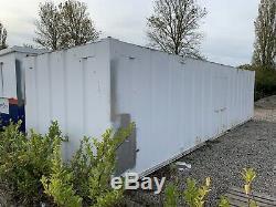 Garage Site 32ft Conteneur De Stockage Portable Magasin Atelier Anti Vandal Stockage