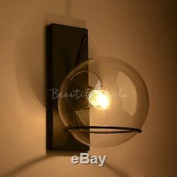 Globe Led Verre Wall Light Hôtel Wall Lamp Magasin De Vêtements Lampes Bar Applique Murale